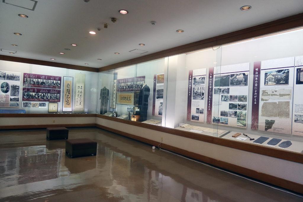 郷土館 2階展示場