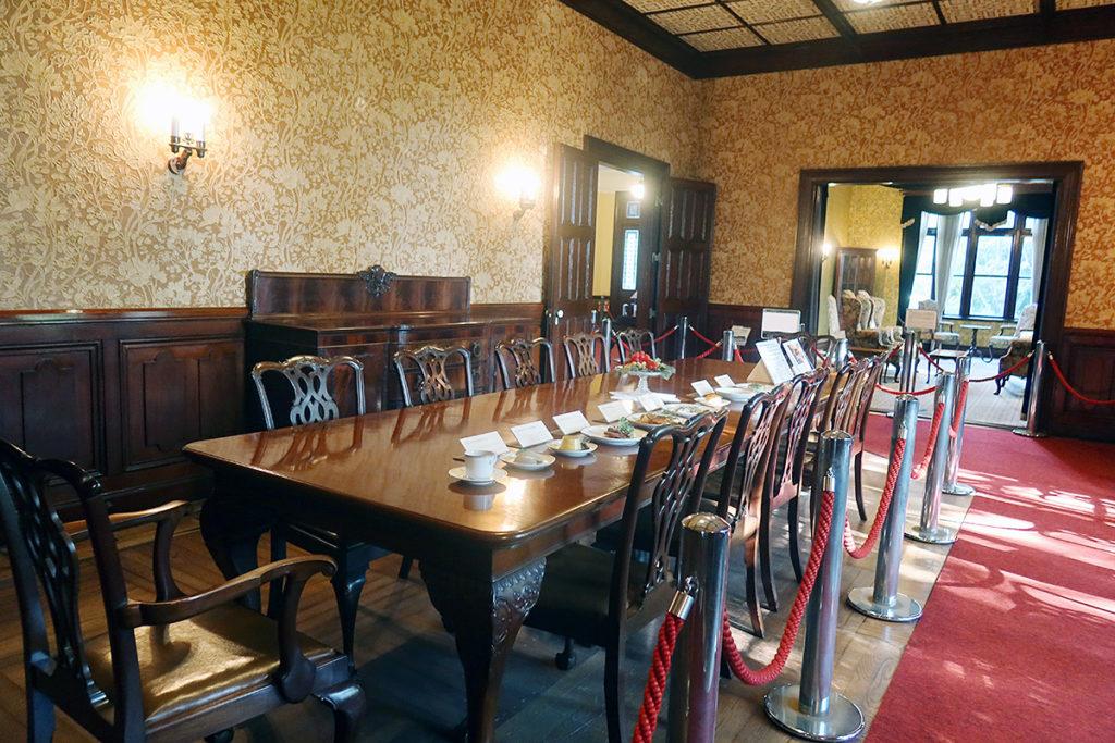 洋館部・食堂