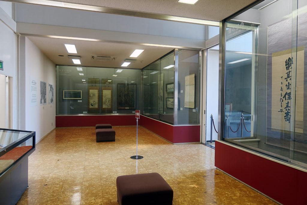 呉市歴史民俗資料館 内部