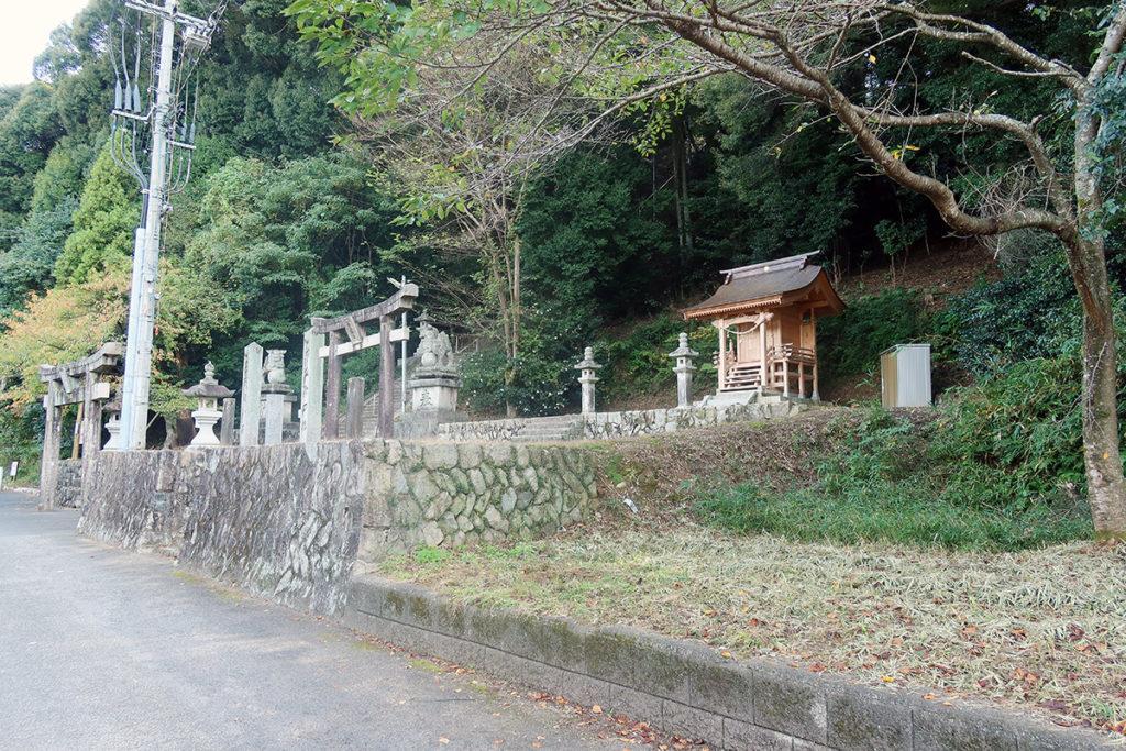 難波神社 全景