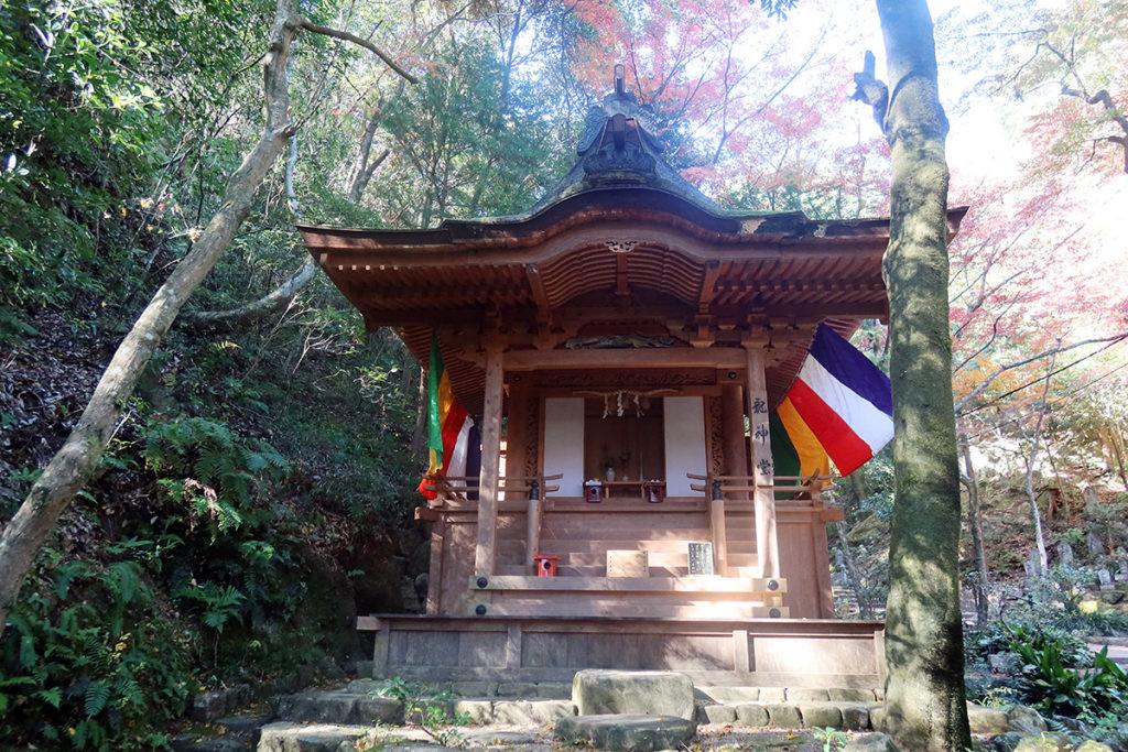 三瀧寺 龍神堂