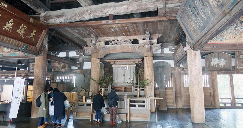 宮島 千畳閣 豊国神社